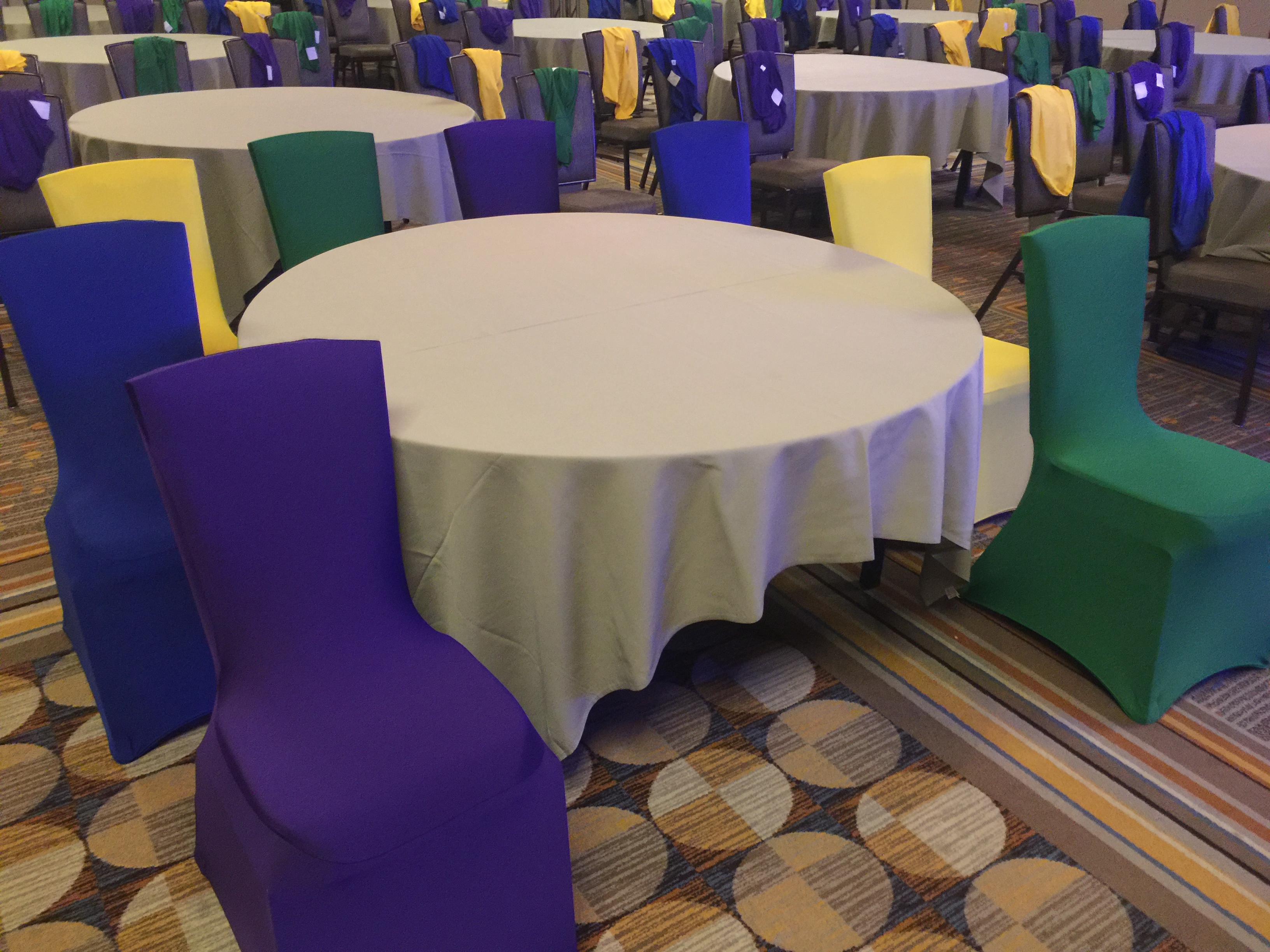Fabulous Royal Blue Spandex Banquet Chair Cover Gmtry Best Dining Table And Chair Ideas Images Gmtryco