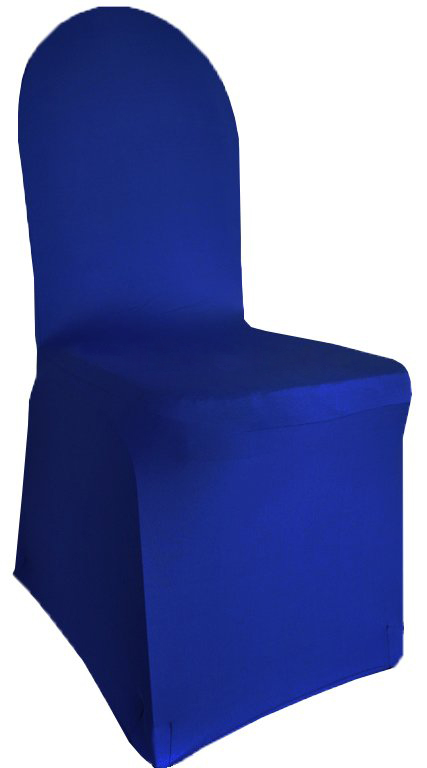 Super Royal Blue Spandex Banquet Chair Cover Caraccident5 Cool Chair Designs And Ideas Caraccident5Info